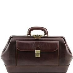 Tuscany Leather Bernini - Exclusive leather doctor bag Dark Brown Tuscany Leather http://www.amazon.com/dp/B00PSGLE4C/ref=cm_sw_r_pi_dp_pfaXub1275WSV