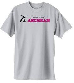 I work in the Archean