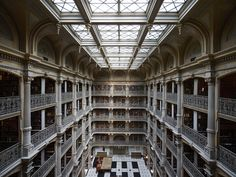 Inside Baltimore's 1866 George Peabody Library