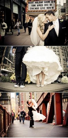 Okay, I am getting out of control...  I just found this website and I love all of the Chicago Wedding Photo Opts!