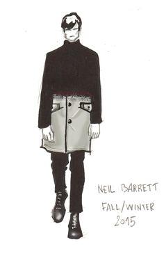 Neil Barrett Fall/Winter fashion show - Milan