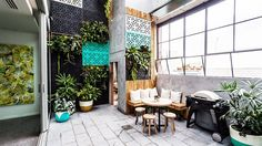 In Pictures: Max + Karstan's terrace 'completes the puzzle' | The Block Glasshouse | 9jumpin