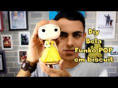 Turma do Chaves ímas Biscuit - AngellArtes - YouTube Funko Pop, Sah Biscuit, Beauty And The Beast Diy, Diy Beauty, Polymer Clay Princess, Cold Porcelain Tutorial, Pasta Flexible, Clay Tutorials, Pop Vinyl