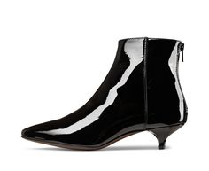 AGL patent leather ankle boot #agl #aglshoes #shoes #madeinitaly #leather #style #design #love #ankleboot #totalblack #fashion