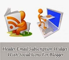 Add Email Subscription Box In Header With Social Icons - eAskme | How to, Learn Blogging Online, Make Money Online