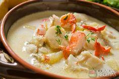Receita de Bisque de lagosta em receitas de sopas e caldos, veja essa e outras receitas aqui!
