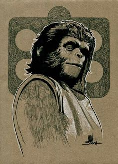 Everything about the mighty PLANET OF THE APES saga, from the original novel, via the classic films of the and right up to the 2011 reboot. Saga, Comic, Planet Of The Apes, Cinema Posters, Post Apocalypse, Original Movie, Classic Films, Sci Fi Art, Monster