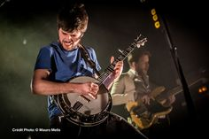 Winston Marshall of Mumford & Sons performs at Le Trianon in Paris on 26th March, 2013.  Photo © Mauro Melis (Flickr/Website/Facebook). Posted with permission.