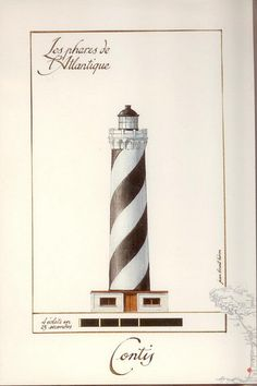 France, Lighthouse of Contis by helen_orlova, via Flickr