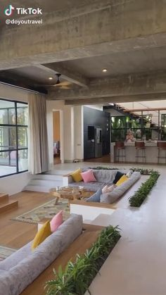 Home Room Design, Dream Home Design, Modern House Design, Home Interior Design, Interior Architecture, Best Home Design, Modern Home Interior, Glass House Design, Tropical House Design