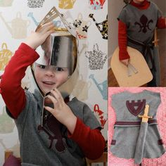 little knight lanzelot Diy Halloween Costumes For Kids, Halloween Costume Contest, Halloween Fashion, Diy Costumes, Medieval Party, Dragon Birthday, Diy Accessoires, Happy Kids, Diy For Kids