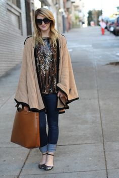 Another possibility...Poncho sweater