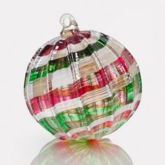 Christmas Surprise Art Glass Ornament by Christian Turiello