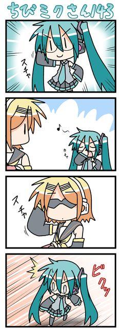Chibi Anime Mini Comic Cartoon