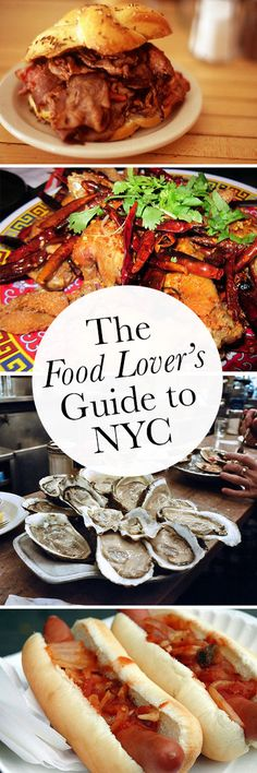 When it comes to food, there may not be a better city on earth than the Big Apple. But how to narrow it down? Here's Samantha Brown's (Travel Channel) food lover's guide to New York City.