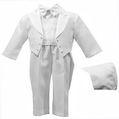 Little Darlings Linen Christening Suit For A Boy In Cream Age 12 Months Moderate Cost Baby & Toddler Clothing