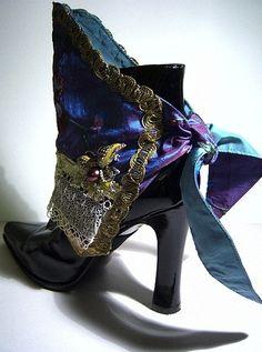 Purple Dream Spats by MAIDESTREASURIES.deviantart.com on @deviantART