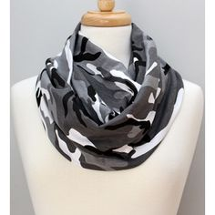 Gray, Black, White, Camo, Military Wrap