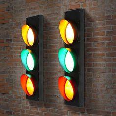 Stylish traffic lights installed at home!  | Cheerhuzz