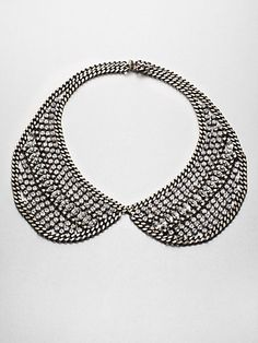 DANNIJO - Sparkle Chain Collar Necklace - Saks.com