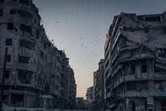 Maisons détruites à Homs Syrie - Sergey Ponomarev