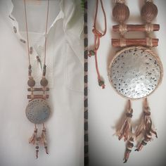 Handmade Necklaces, Dream Catcher, Etsy, Shopping, Decor, Dreamcatchers, Decoration, Decorating, Dream Catchers