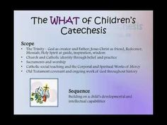 Sadlier Webinar- Let the Children Come: The What, Why, and How of Children's Catechesis #Catholic #Catechist #Catechesis