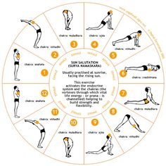 The complete workout: Surya Namaskaras Loved and pinned by www.downdogboutique.com