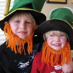 Leprechaun beards!!!