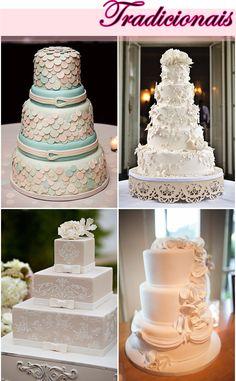 Diário de noiva: Bolos de casamento  