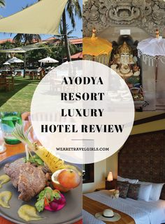 AYODYA RESORT LUXURY HOTEL REVIEW This past month I was welcomed to the beautiful Ayodya Resort in Nusa Dua, Bali. After spending 4 days on Nusa Lembongan in a more budget style accommodation, the luxurious atmosphere was a welcome change of pace. Nestled in the Nusa Dua resort area, the Ayodya is a sprawling 5 star beach front hotel with all of the amenities one could ask for (and then some!). I'm so excited to share what made my experience at the Ayodya so special in this post: By We Are…