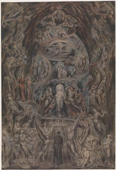 ritualcircle:    William Blake - Epitome of James Hervey's 'Meditations among the Tombs' (1820-5)