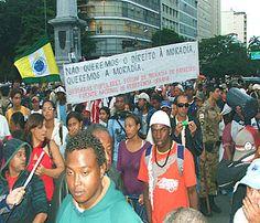 #Brasil: #MTST #ocupa dois terrenos na #região #metropolitana de #SP
