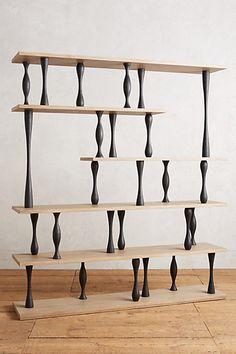 Tudor-Leg Bookcase #anthropologie