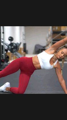 Gym Workout Videos, Butt Workout, Gym Workouts, Workout Routines, Love Handle Workout, Fitness Workout For Women, Love Handles, Workout For Beginners, Workout Challenge