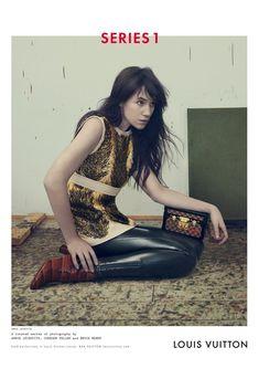Nicolas Ghesquière x Charlotte Gainsbourg x Louis Vuitton x Annie Leibovitz for the Fall/winter 2014-15 campaign