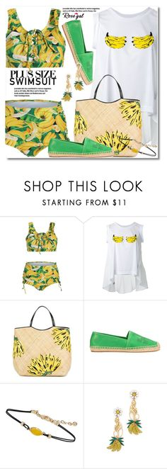 """Untitled #2793"" by svijetlana ❤ liked on Polyvore featuring Muveil, Aranáz, Tory Burch, Miss Selfridge and Elizabeth Cole"