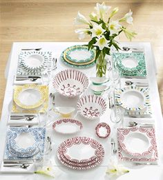 I have the green patterned dishes. Dinnerware, Table Decorations, Antiques, Tableware, Pattern, China China, Dishes, Furniture, Austria