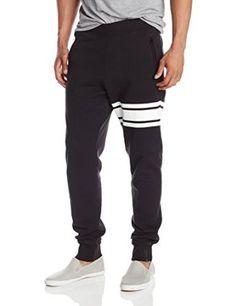 57454b1704 Amazon.com: French Connection Men's Anthony Joshua Hit Harder Jogger Pant,  Black, Small: Clothing