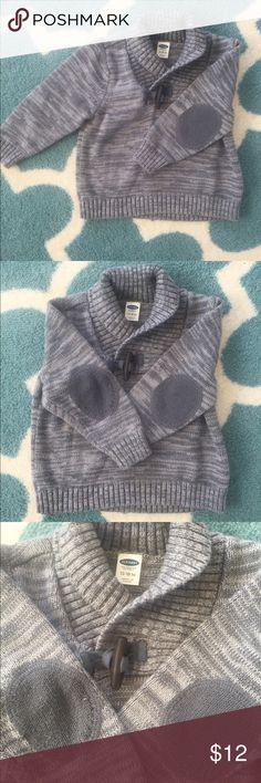 Preppy Boys Grey Old Navy Sweater OMG I am in love with this preppy little sweater with the elbow patches! My little boy wore it just once before it was too small for him 😓 I love this sweater with a pair of dark jeans! Get this for your or someone you know's little boy! You won't regret it! Old Navy Shirts & Tops Sweaters