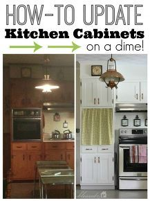 Update Kitchen Cabinet Doors On A Dime!