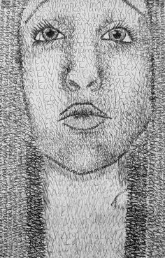 Students used photographs to create a contour line drawing of their face. Once the outlines of their faces have been drawn students added value (lights and darks) to their self-portraits by writing...