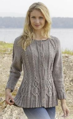 Alana Cardigan by DROPS Design
