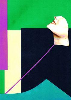 Collage, colour palette FMP