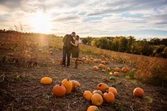Fall engagement with Kathleen Hertel Photography