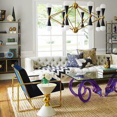 Jonathan Adler Goldfinger Lounge Chair - Alt Image 9