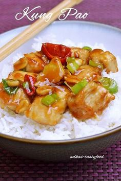 chute a vône mojej kuchyne. Asian Recipes, My Recipes, Chicken Recipes, Cooking Recipes, Healthy Recipes, Ethnic Recipes, Kung Pao Recept, Main Meals, Wok