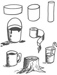 Image result for art 3 d shapes lesson