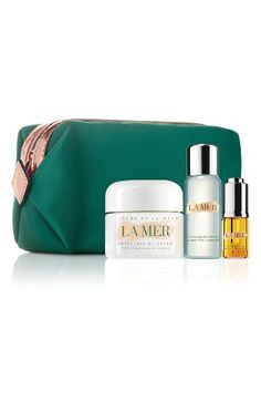 Free shipping and returns on La Mer Beauty Beyond Skin Care Collection (Purchase with La Mer Foundation Purchase) at Nordstrom.com. What it is: Receive this collection for $170 with your purchase of Soft Fluid Long Wear Foundation SPF 20. A $225 value.Collection includes:- Cleansing Micellar Water (1.01 oz.): a formula that whisks away makeup with one sweeping step while clearing pores and lifting impurities, leaving your skin pristine.- Crème de la Mer Moisturizing Cream (1.01 oz.): a cream…