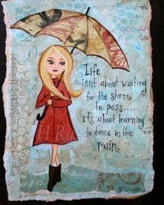 True! #rain #storm #showers #fashion #red #fashionista #umbrella #style #true #tresbazaar #love by tresbazaar